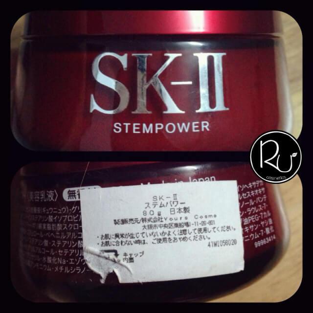 SK-II cũng có tem nhập khẩu