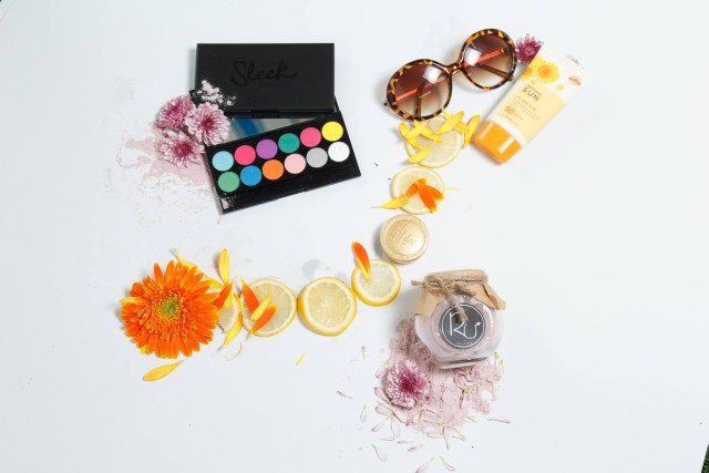 combo mỹ phẩm mùa hè rư cosmetics