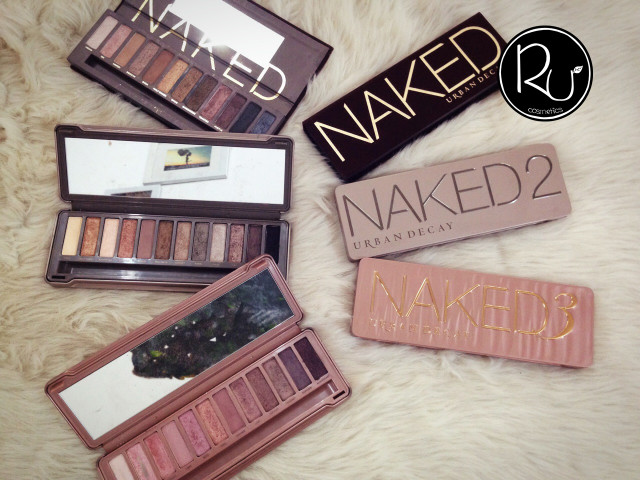 NAKED 1 2 3 Rư cosmetics